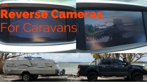 Dual Reverse Cameras for Caravans and Camper trailers