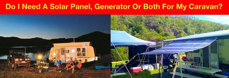 Solar Panel VS Generator: