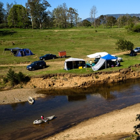 campgrounds within 1 hour of sunshine coast