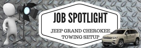 Jeep Grand Cherokee Towing Setup