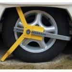 Caravan Security Wheel Clamp Sunshine Coast Caravan Repairs