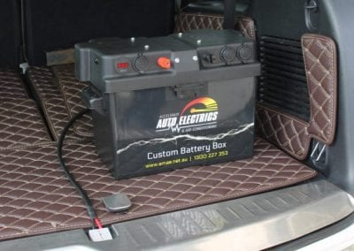 Custom Battery Box (Toyota Landcruiser)