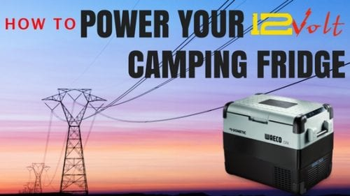 how to power your 12 volt camping fridge - auto electrician sunshine coast