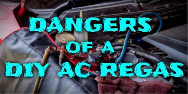 Dangers Of A Diy Ac Regas Accelerate Auto Electrics