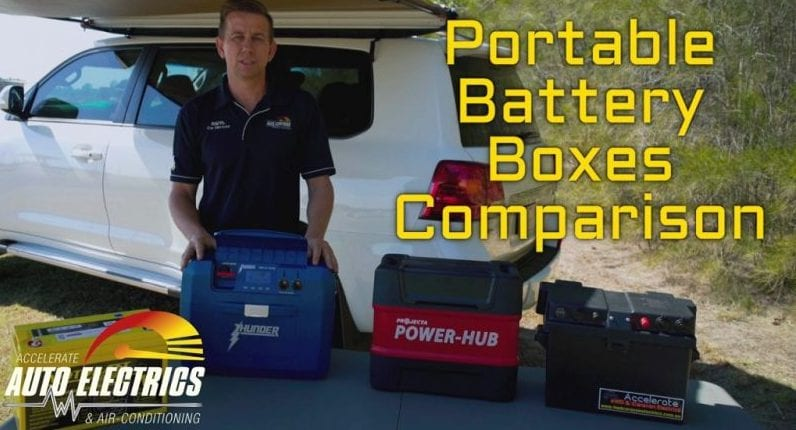 Portable Battery Boxes Video