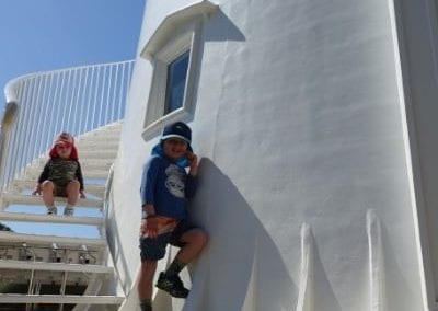 Top 9 things to do on Fraser Island with kids - Sandy Cape LightHouse