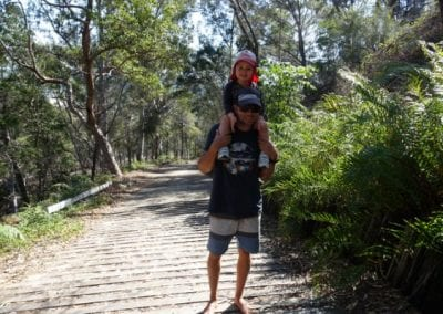 Top 9 things to do on Fraser Island with kids - Sandy Cape LightHouse Walking Track