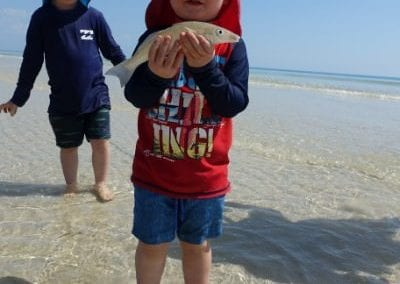 Top 9 things to do on Fraser Island with kids - Whiting Fishing