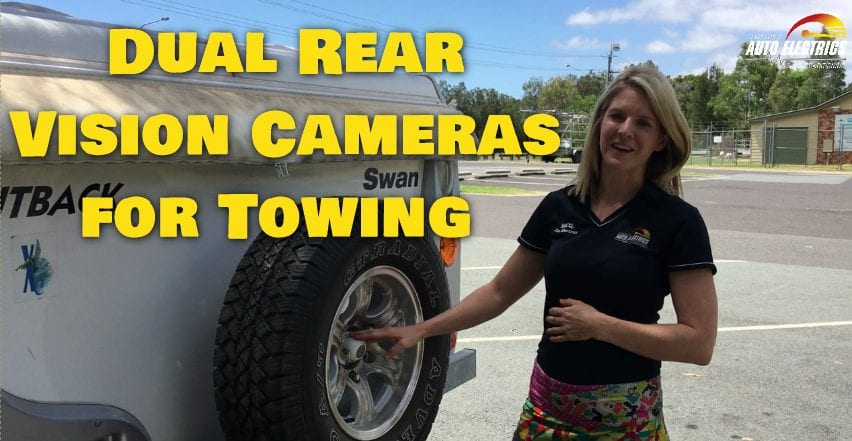 Dual Rear Vision Cameras for Towing