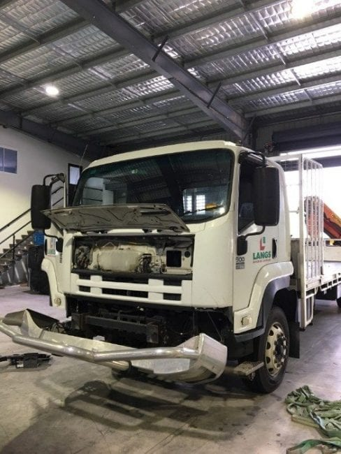 Air Conditioning Not Working In Car >> Isuzu Truck FTR Evaporator Replacement | Accelerate Auto Electrics & Air Conditioning