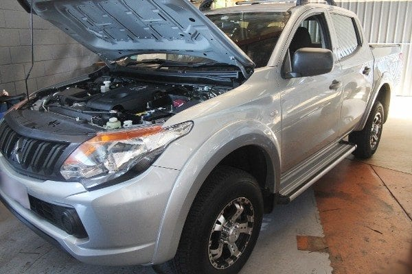 Mitsubishi triton mq electric brake controller installation