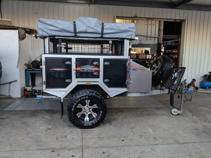 Austrack Camper Lithium Battery System