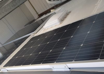 Solar Panels After Installation
