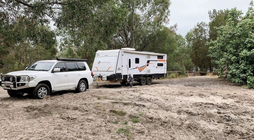 Campsite Review: Inskip Peninsula Recreation Area