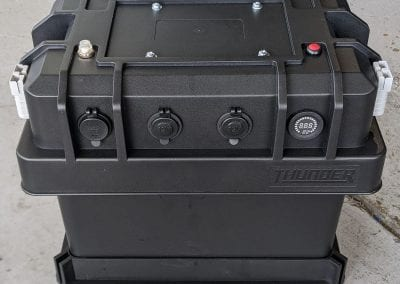 Front of Thunder Battery Box