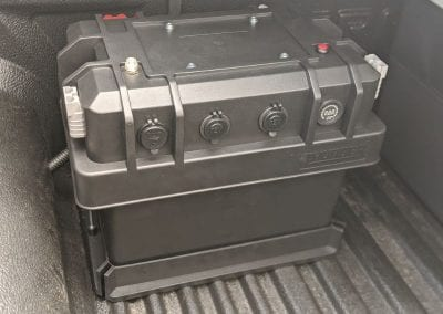 Thunder Battery Box Installed in Tray
