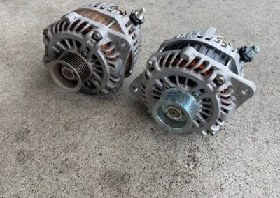Old vs New Alternator