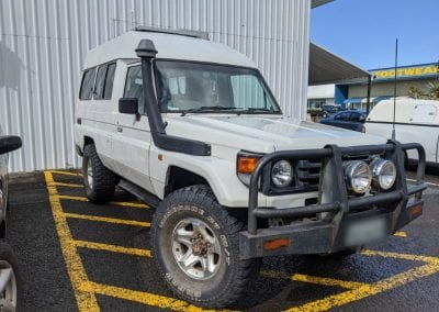 Toyota Landcruiser Troopcarrier Dual Battery System