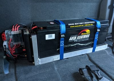Behind Seat Dual Battery System Without Seat (Ford Ranger)