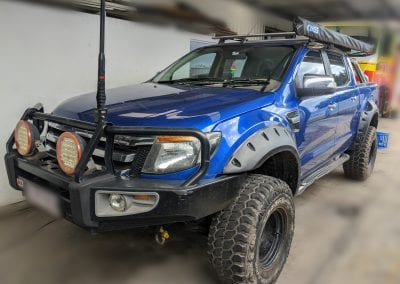 Ford Ranger PX Behind Seat System