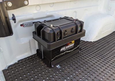 Heavy Duty Portable Battery Box (Mitsubishi Triton)