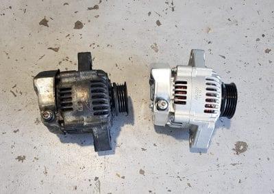 Old vs New Alternator