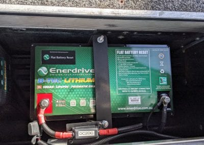 Enerdrive BTEC 100Ah Lithium Battery
