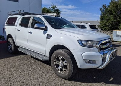 Ford Ranger Lithium Dual Battery System and Towing Set Up