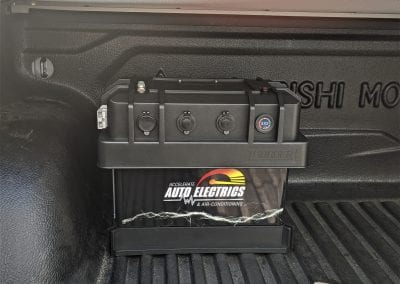 Heavy Duty Battery Box Rear Tub (Mitsubishi Triton)