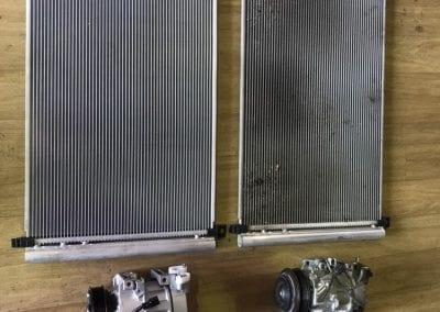 New vs Old Compressor and Condenser