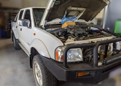 Nissan Navara Compressor and Condenser Replacement