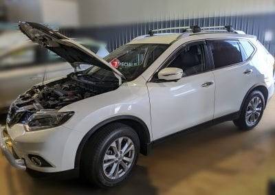 Nissan X-Trail Condenser and Compressor Replacement