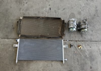 Old vs New Compressor, Condenser and Fan Speed Resistor