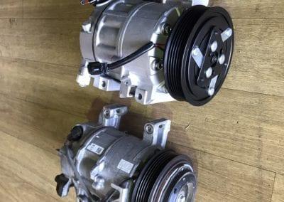 Old vs New Nissan X-Trail Compressor