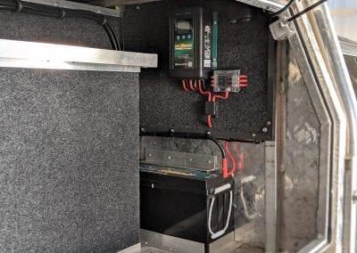 Enerdrive Lithium Canopy Dual Battery System (Nissan Navara)