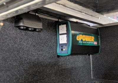 Enerdrive ePower Inverter in Canopy (Nissan Navara)
