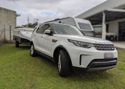 Land Rover Discovery Towing Set Up