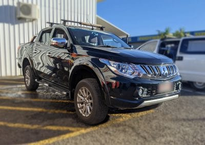 Mitsubishi Triton (MR) Behind Seat Dual Battery System