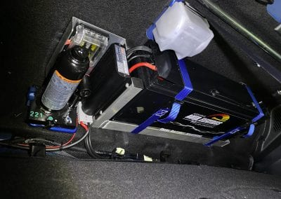 Behind Seat Dual Battery System