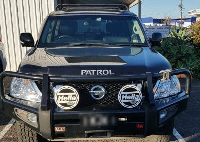Nissan Patrol Under Bonnet Dual Battery System