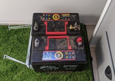 Old AGM Batteries