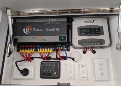 Old BMPRO Battery Management System and Voltech MPPT Controller