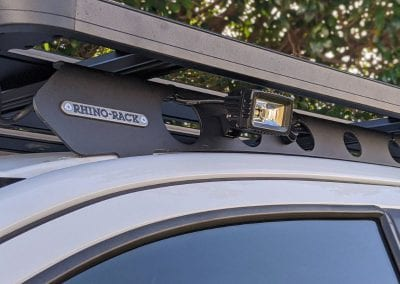 Rhino Rack and SPOTTER Work Light (Front)