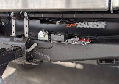 WOZA, 12 Pin & Anderson Plugs on Tow Bar