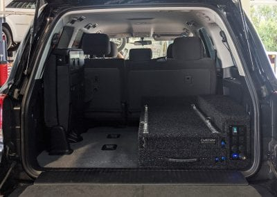 Rear Drawer System with Socket Panel