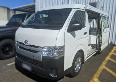 Toyota Hiace VanLife Fit Out