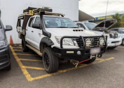 Toyota Hilux Lithium Portable Battery Box Installation
