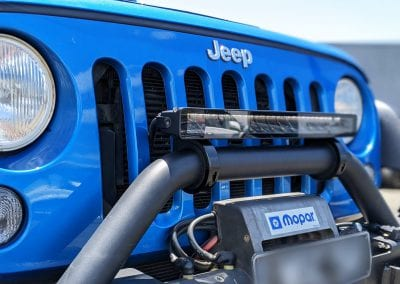 Jeep Wrangler LIVID Light Bar 2
