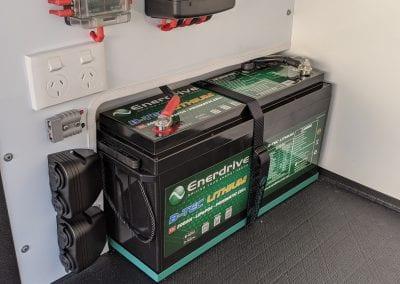 Enerdrive B-Tech 200Ah Lithium Battery