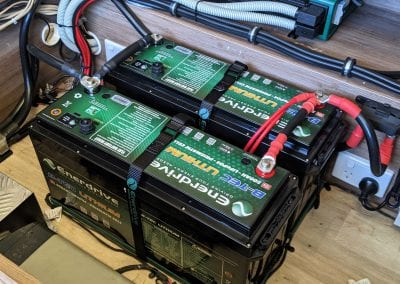 2x 200Ah Enerdrive Lithium Batteries